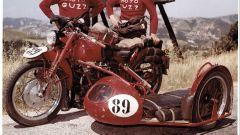 La Moto Guzzi che partecipò alla Milano Taranto del '53