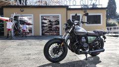 La Moto Guzzi V9 Bobber in edizione Centenario