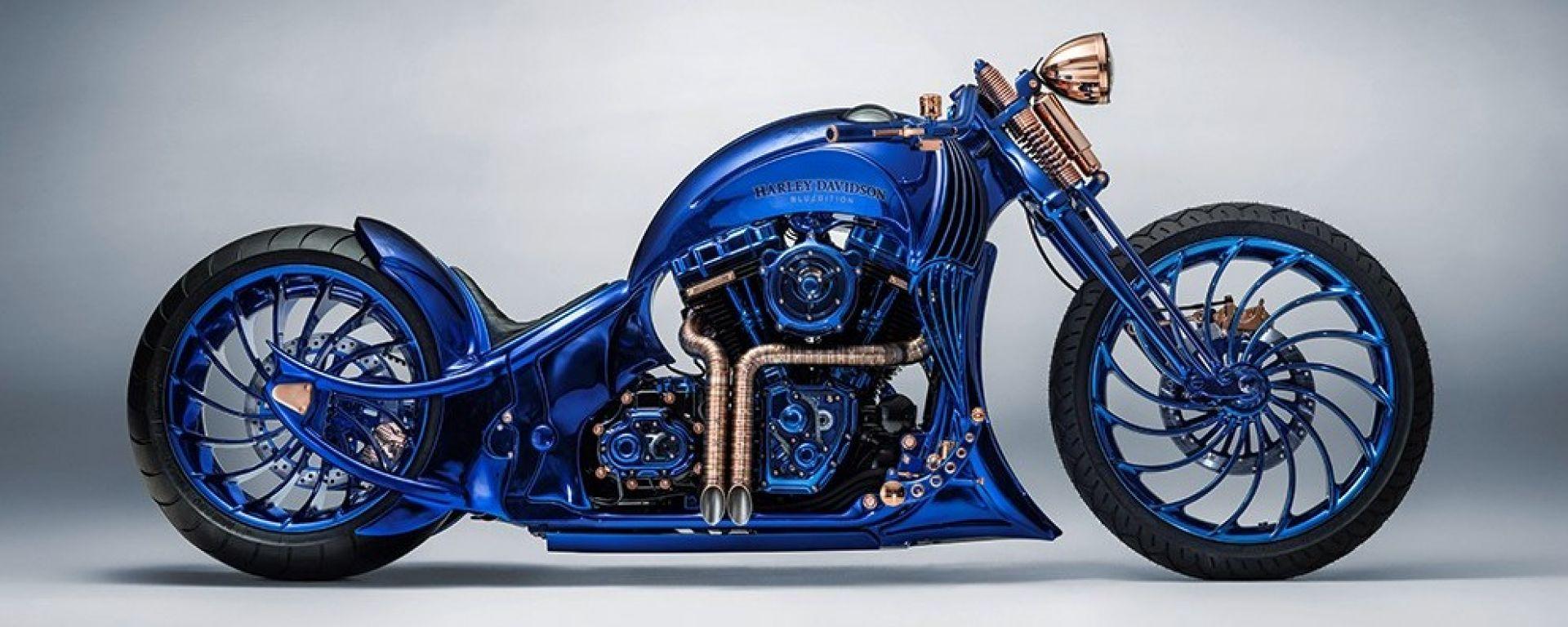La moto più cara al mondo: è una Harley Davidson Softail