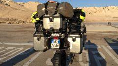 La moto utilizzate nel viaggio raccontato nel film