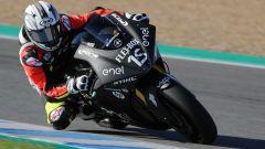 La MotoE in pista nei primi test di Jerez