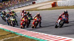 La MotoGP 2017 sul circuito di Barcellona