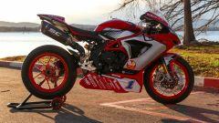 La MV Agusta F3 675 del Mondiale Supersport 600 a Schiranna