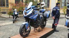 MV Agusta dona quattro Turismo Veloce 800 SCS alla Polizia di Stato