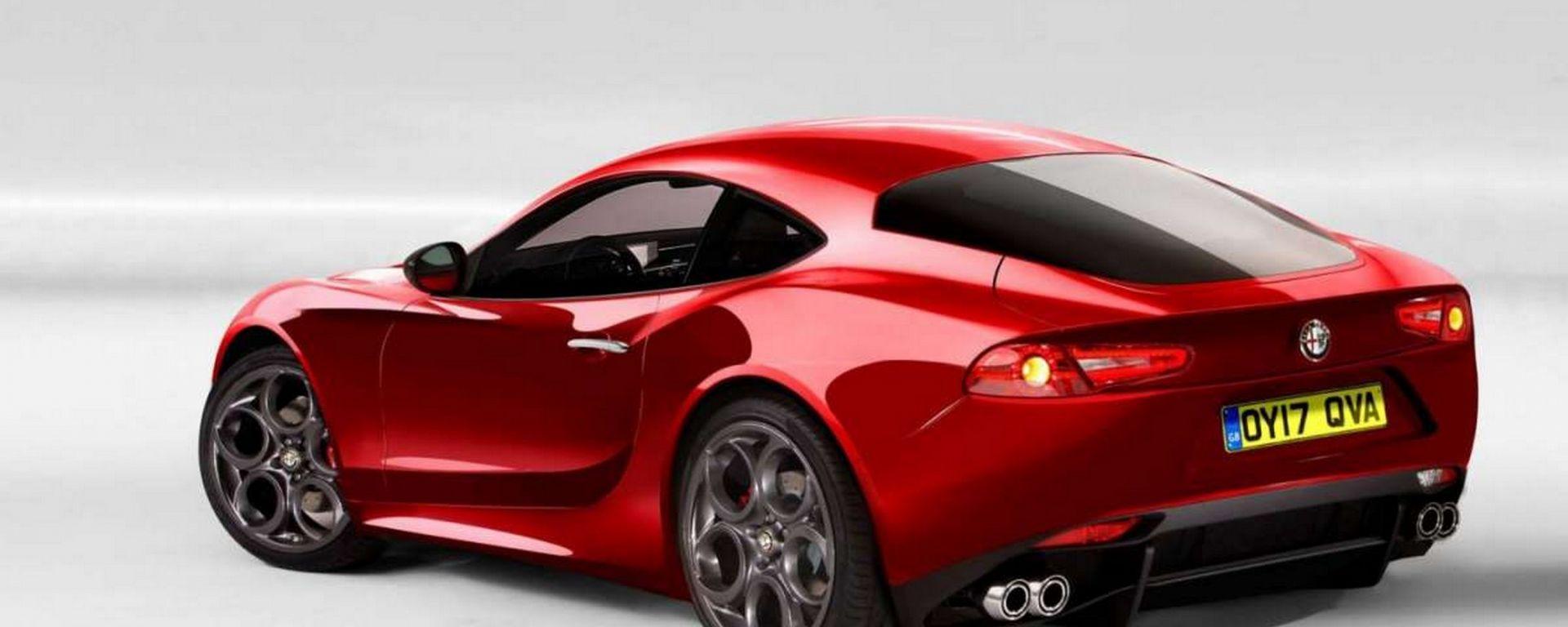 La notizia dell'Alfa Romeo Giulia Coupé altro non sarebbe stata se non un'indagine di mercato