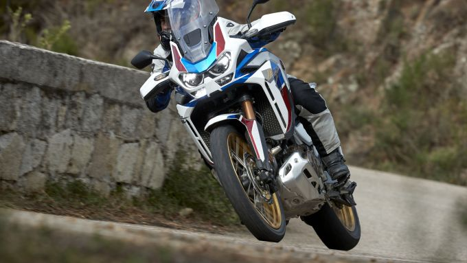 La nuova Africa Twin Adventure Sports in Sardegna