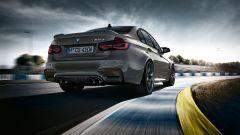 La nuova BMW M3 CS: il posteriore