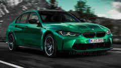 La nuova BMW M3 ripensata da CarBuzz