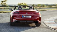 La nuova BMW Z4 Roadster 2018: vista posteriore