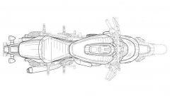La nuova Café Racer di Harley-Davidson vista dall'alto