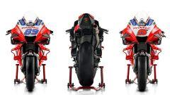 La nuova Ducati Demosedici GP21 del Pramac Racing di Jorge Martin e Johann Zarco