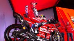 La nuova Ducati Desmosedici GP19, in sella Andrea Dovizioso