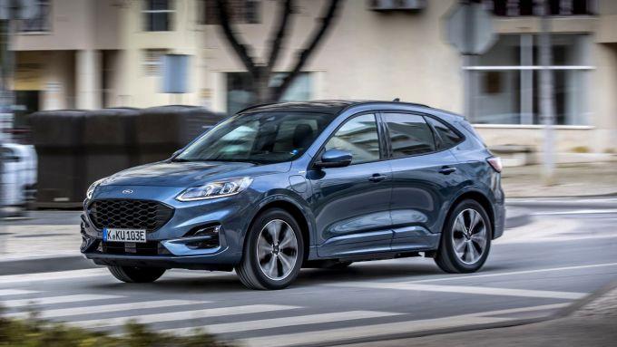La nuova Ford Kuga, SUV di successo dell'Ovale Blu