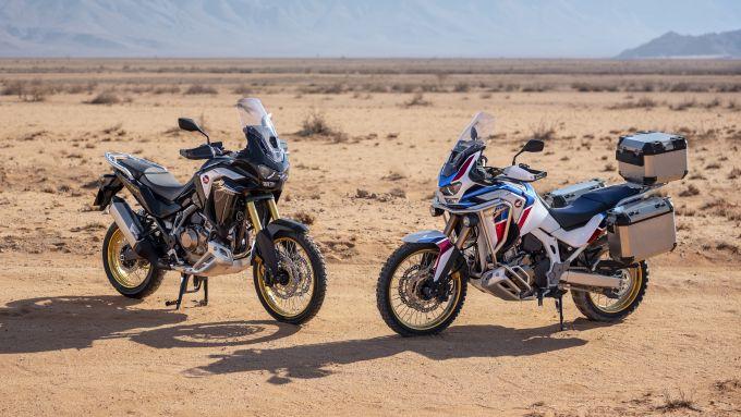 La nuova Honda Africa Twin 2020 e la gemella Africa Twin Adventure Sports