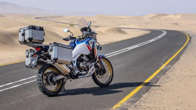 La nuova Honda Africa Twin Adventure Sports 2020