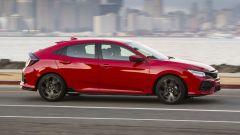 La nuova Honda Civic 5 porte 2017 ha linee molto caratterizzate in chiave sportiva
