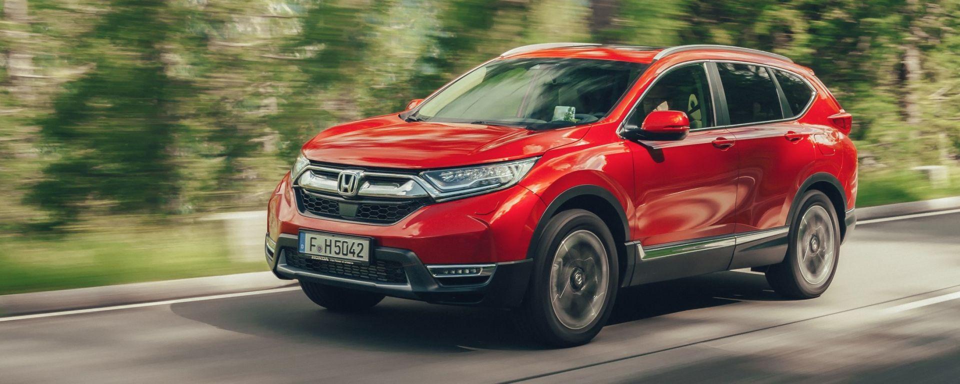 Nuova Honda CR-V 2018: la prova su strada