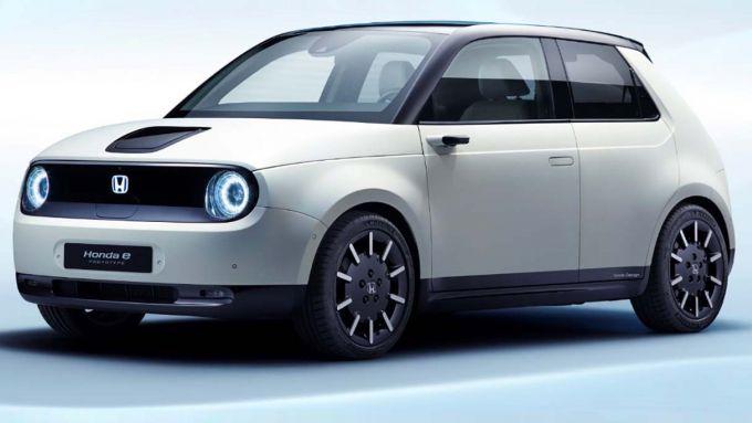 La nuova Honda e, citycar 100% elettrica