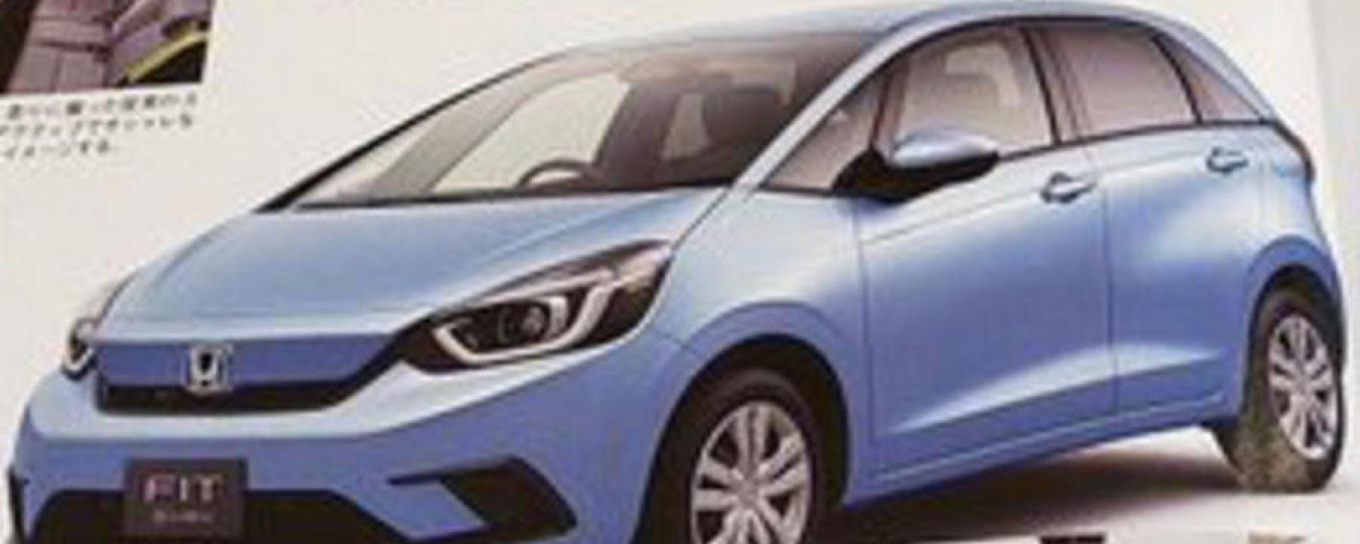 La nuova Honda Jazz 2020 (in Giappone Honda Fit)