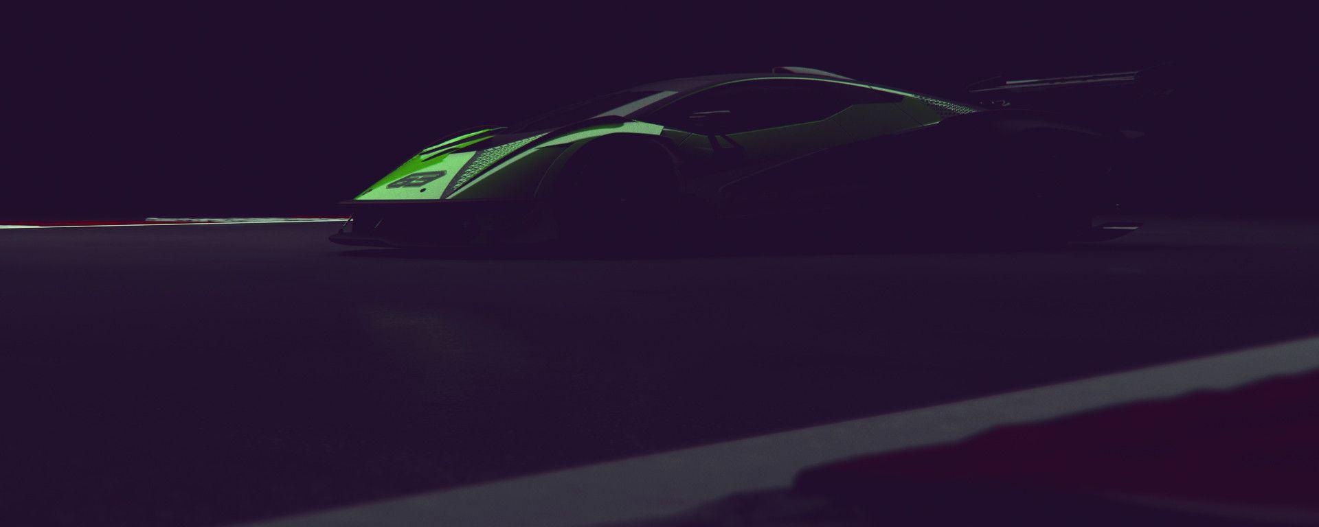 La nuova hypercar Lamborghini V12 per la pista