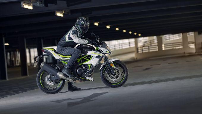 La nuova Kawasaki Z125 per il 2021