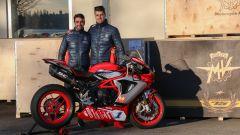 La nuova livrea della MV Agusta F3 675 che correrà nel Mondiale Supersport 2020