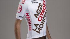 La nuova maglia dell'AG2R Citroen Team di ciclismo