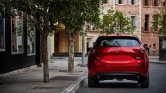 La nuova Mazda CX-5: vista posteriore
