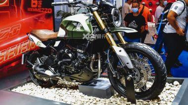 La nuova Moto Morini Seiemmezzo SCR