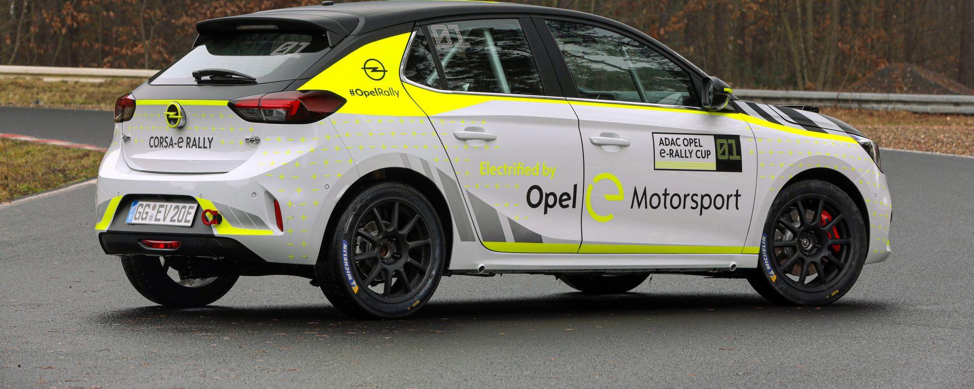 La nuova Opel Corsa-e Rally sarà protagonista della ADAC Opel Corsa e-Rally Cup nel 2020