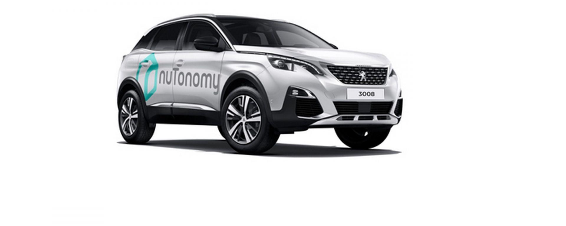 La nuova Peugeot 3008 monterà sensori e tecnologie firmate nuTonomy per la guida autonoma