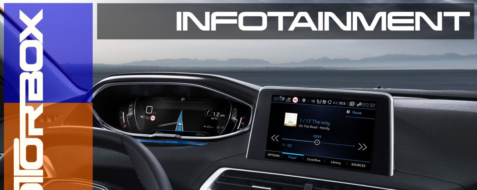 La nuova Peugeot 3008 si rinnova nelle forme e anche nei contenuti tecnologici col nuovo i-Cockpit