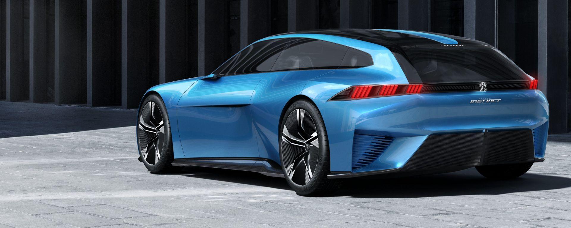 La nuova Peugeot 508 si ispira alla cocept Instinct