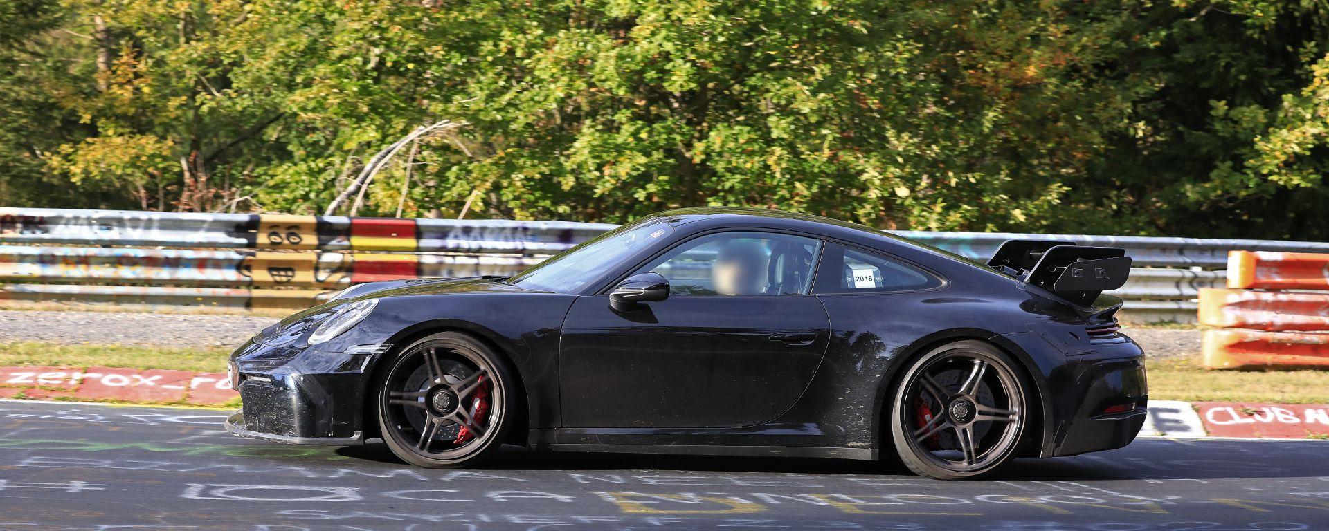 La nuova Porsche 911 GT3 2020 992 al Nurburgring