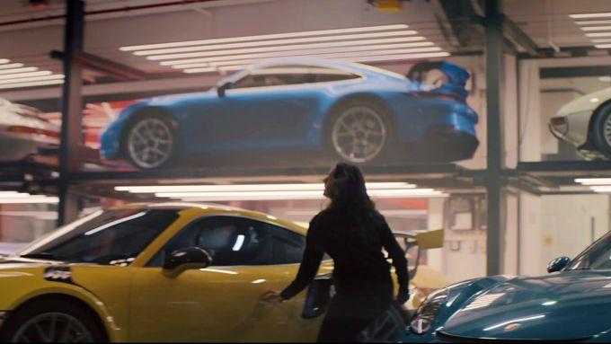 La nuova Porsche GT3 nello spot del Super Bowl 2020