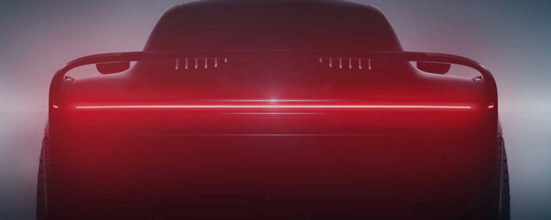 La nuova Porsche ispirata alla 959 di Gemballa: il posteriore