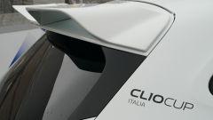 La nuova Renault Clio Cup 2021: dettaglio dello spoiler posteriore