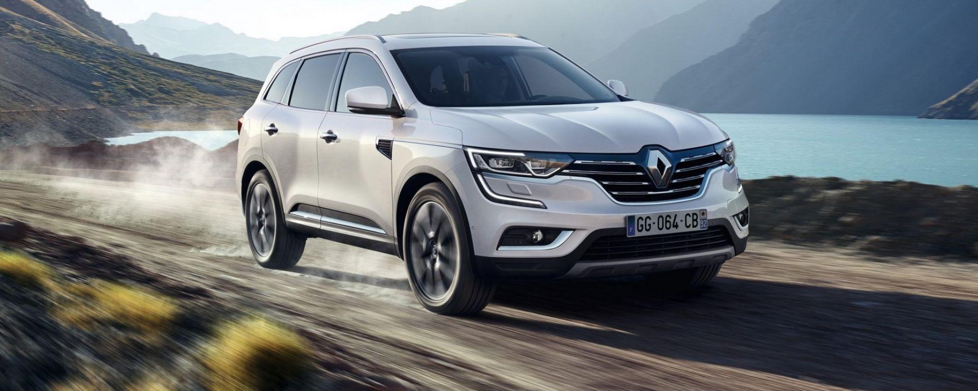 La nuova Renault Koleos ha la trazione integrale ALL MODE 4x4-i