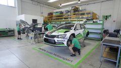 La nuova sede logistica nel veronese - Skoda Italia Motorsport