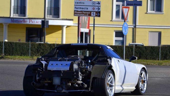 La Nuova Stratos a Maranello: il motore in bella vista