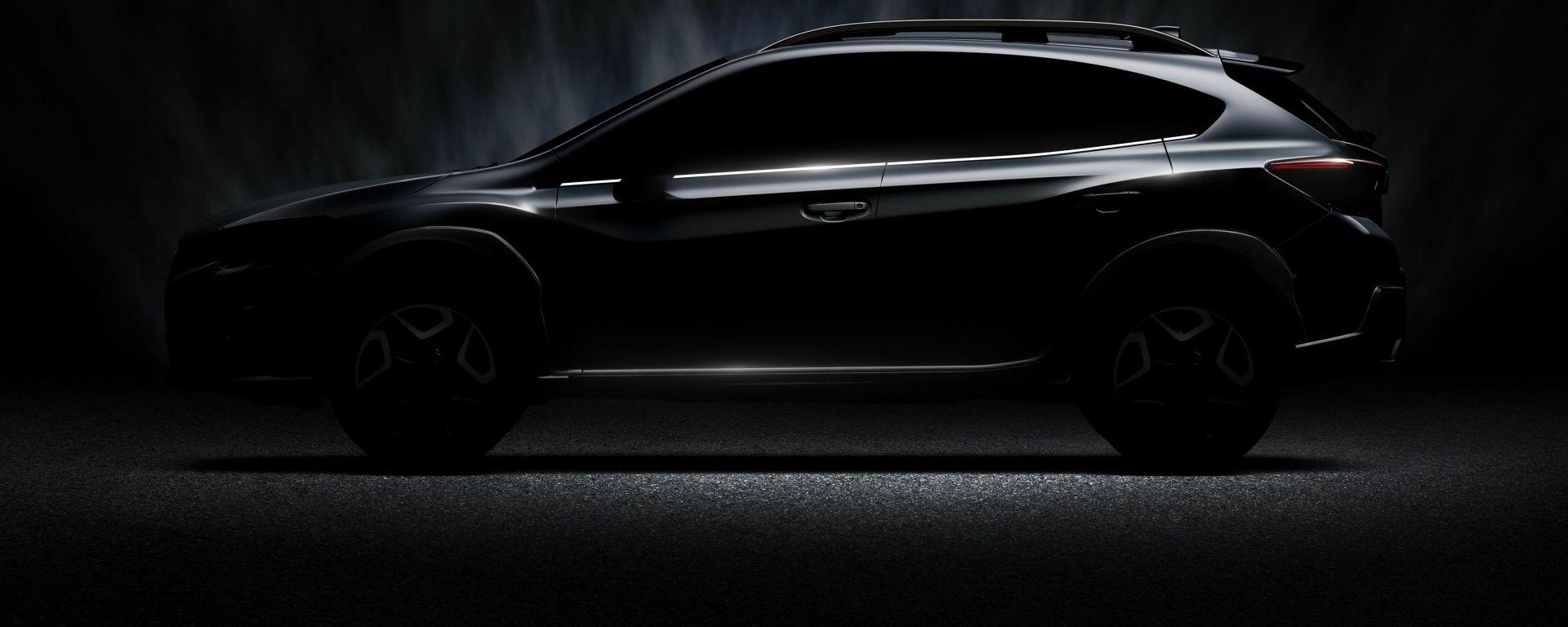 La nuova Subaru XV che verrà presentata al salone di Ginevra