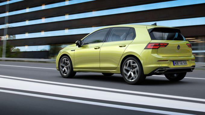 La nuova Volkswagen Golf 8 2020 sarà solo a 5 porte