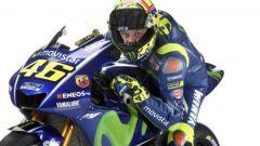 La nuova Yamaha Moto GP 2017 e Valentino Rossi