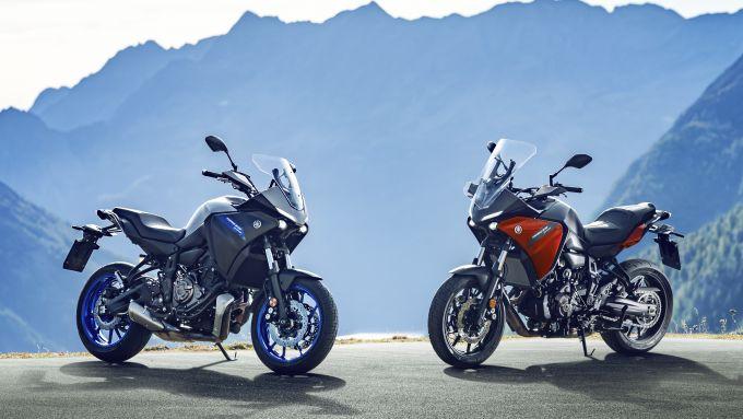 La nuova Yamaha Tracer 700