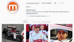La pagina MotorBox Sport è su Instagram