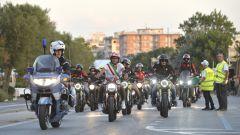 La parata ha attraversato tutta la Riviera Romagnola