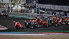 La partenza del GP dell'Emilia Romagna e della Riviera di Rimini 2020