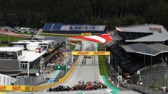 La partenza del GP di Stiria 2020, Spielberg, Red Bull Ring