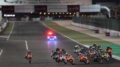 La partenza del Gp Qatar 2018