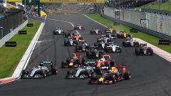 La partenza - GP Ungheria